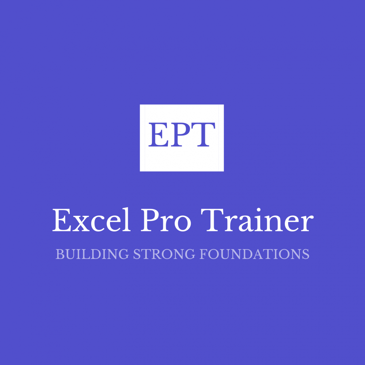Excel Pro Trainer